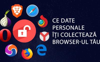 Browserele care colectează cele mai multe date personale ale utilizatorilor
